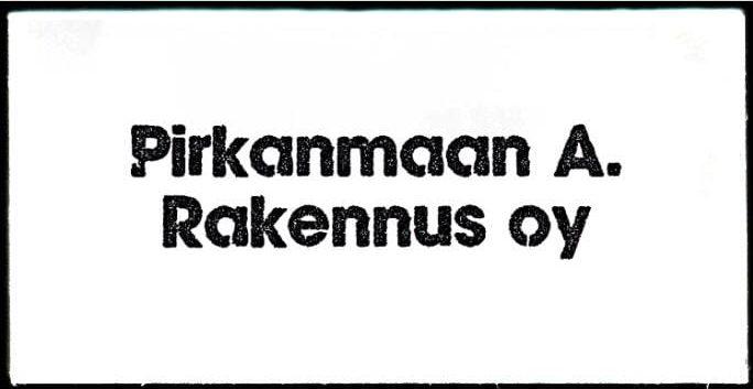 Rakennuspalvelua Tampereella ja Pirkanmaalla | Pirkanmaan A. Rakennus